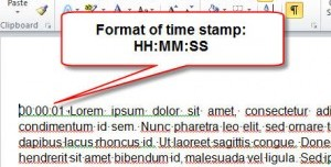 Textformat