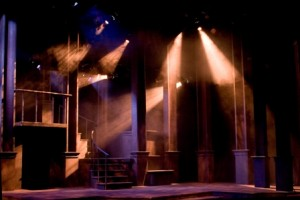 Lighting design department of theatre and dramadepartment of